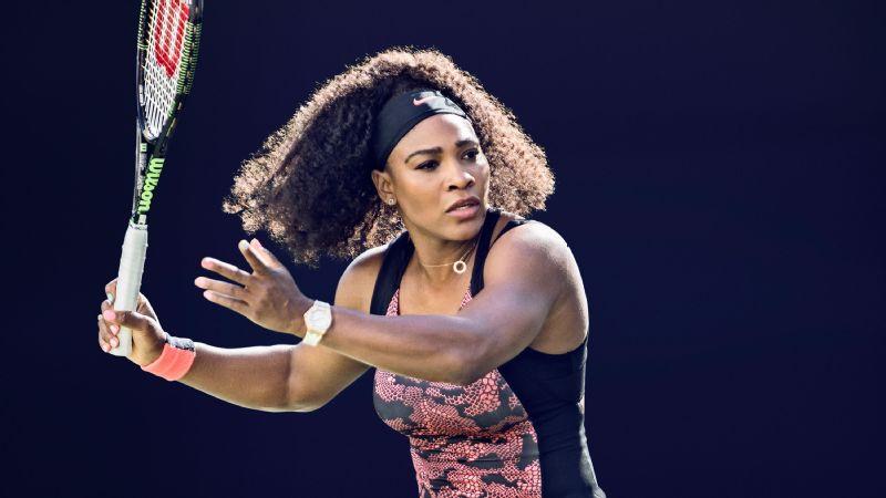 Serena Williams, Nike Premier Dress.